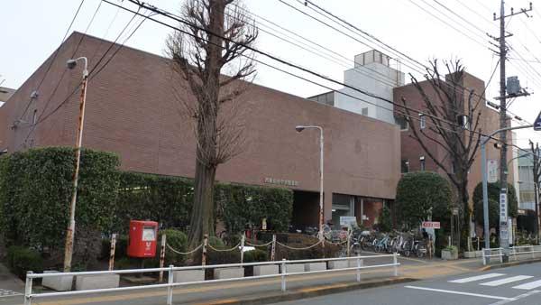 中央図書館と田無公民館
