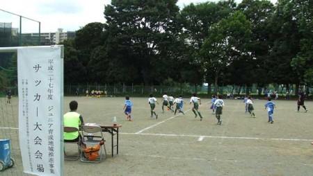 少年サッカー試合