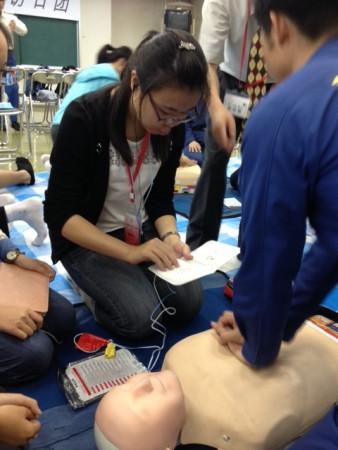 AED操作