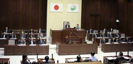 西東京市議会の最終日