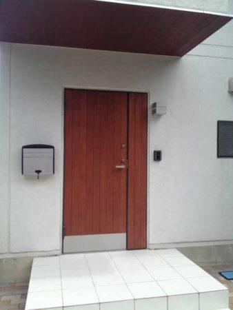 我家の玄関