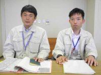 宮川甲和さん(左)と中屋公志さん