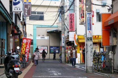 田無駅南口商店街