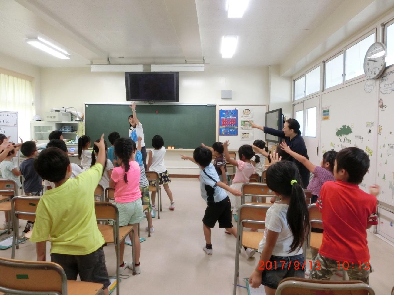 小学校 の 先生 英語