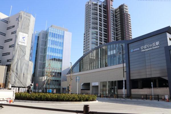 ひばりヶ丘駅北口駅前広場
