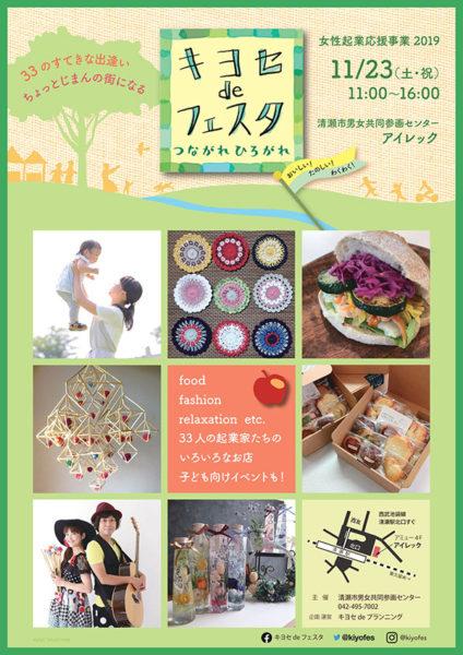 キヨセdeフェスタのポスター