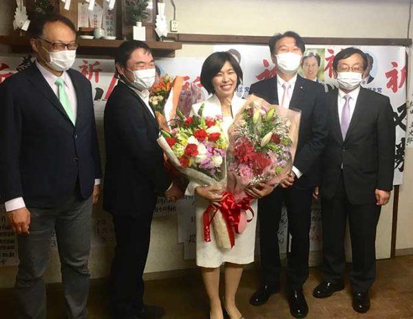 小林洋子さん当選