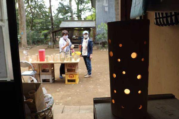 竹の木工品