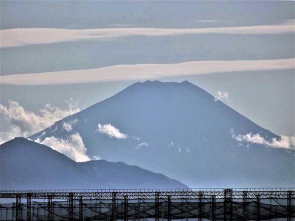 真夏の富士山